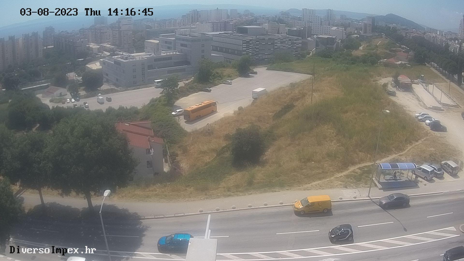 image from weather camera in Split - Croatia